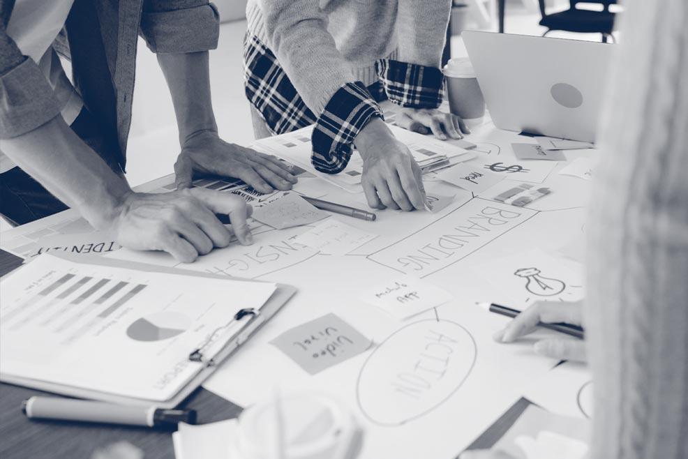 Wir kreieren zielgruppenorientierte Konzepte und einzigartige Kommunikationsstrategien