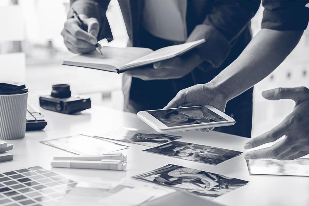 Wir entwickeln medienübergreifende Lösungen für multimediale Ansprüche